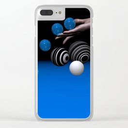 rolling down -1- Clear iPhone Case