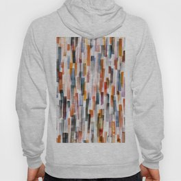 Lines in a Painted Pattern No 2 Hoody