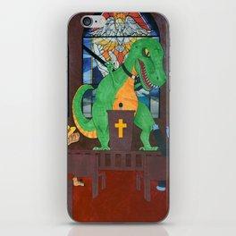 Preachasaurus Rex iPhone Skin