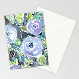 GARDENS OF MONTCLAIR Lavender Floral Stationery Cards