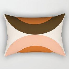 Dig It - minimalist 70s style retro vibes throwback poster minimal art decor Rectangular Pillow
