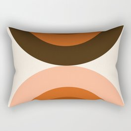 Dig It - minimalist 70s style retro vibes throwback poster minimal art decor Rectangular Pillow