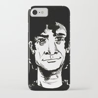 neil gaiman iPhone & iPod Cases featuring NEIL GAIMAN by Simone Bellenoit : Art & Illustration