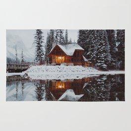 Winter Cabin Rug