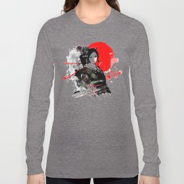 Kyoto Geisha Japan Long Sleeve T-shirt