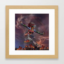 Phoenix Rising Framed Art Print