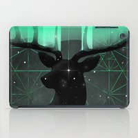 northern lights iPad Cases featuring Northern Lights by angrymonk