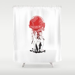 TWIY (TheWorldIsYours)  Shower Curtain