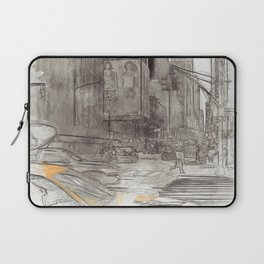 NYC Yellow Cabs Sex City - SKETCH Laptop Sleeve