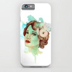 retro woman 2 Slim Case iPhone 6s