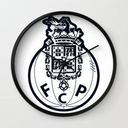 FC Porto Blue crest Wall Clock