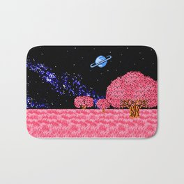 Celestial Fields of Fleeting Dreams Bath Mat