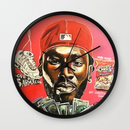fre$h Wall Clock