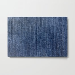 Jeans On All Metal Print