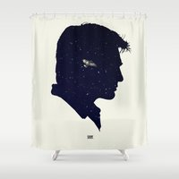 firefly Shower Curtains featuring Firefly - Shiny by Duke Dastardly