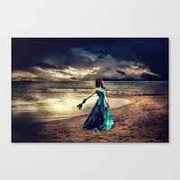 anonymous Canvas Prints featuring Anonymous by Spoken in Red