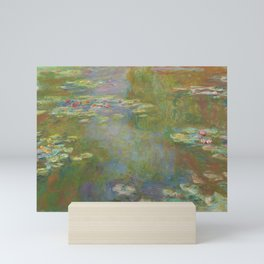 Water Lily Pond by Claude Monet 1917/19 Mini Art Print