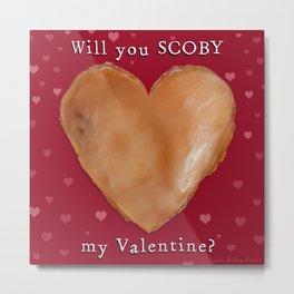 SCOBY My Valentine Metal Print
