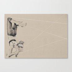 Yoga 2 Canvas Print