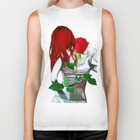 mia wallace Biker Tanks featuring Mia by Lee Wilde