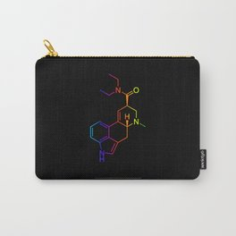 LSD color in black Carry-All Pouch