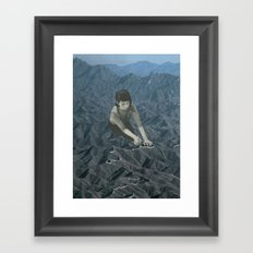 The Great Wall Framed Art Print