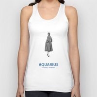 aquarius Tank Tops featuring Aquarius by Cansu Girgin