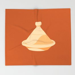 MADE IN MOROCCO #03-THE COOKING POT Throw Blanket