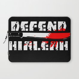 DEFEND HIALEAH Laptop Sleeve