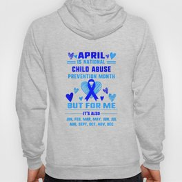 April Is National Child Abuse Prevention Month Awareness T Shirt Hoody