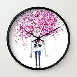 I love Chaos Wall Clock