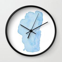 Shoreline Shape of Lake Tahoe  Wall Clock