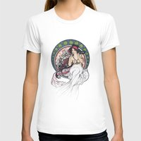 mucha T-shirts featuring Alfons Mucha Music by Puddingshades