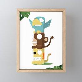 Animal Totem Framed Mini Art Print