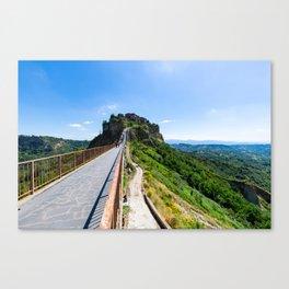 Civita di Bagnoregio - Italy Canvas Print