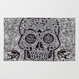 Mosaic Skull Rug