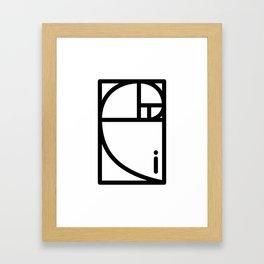 Golden Ration Framed Art Print