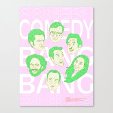 Comedy Bang Bang Canvas Print