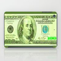 the 100 iPad Cases featuring 100 Dollars by JT Digital Art