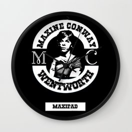 Maxi-Pad Wall Clock