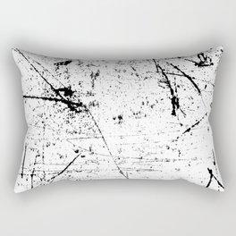 black Rectangular Pillow