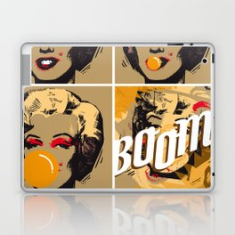 The end of Marilyn Laptop & iPad Skin