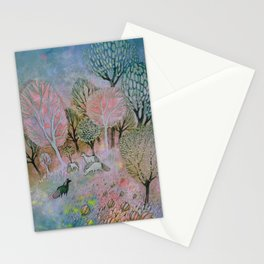 Evening Fog Stationery Cards