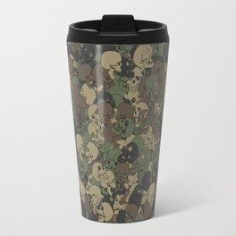 Skull camouflage Travel Mug