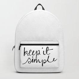 keep it simple Backpack