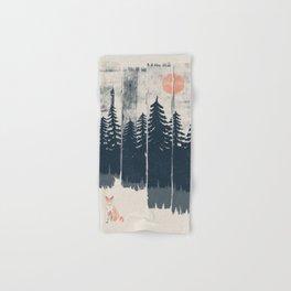 A Fox in the Wild... Hand & Bath Towel