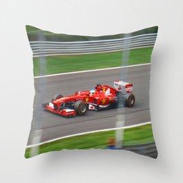 Fernando Alonso - 2013 Gran Premio d'Italia Throw Pillow