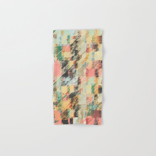 Pastel Colors Abstract Hand & Bath Towel