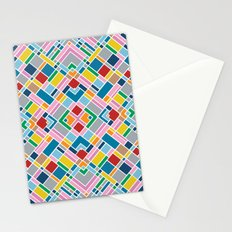 Map Outline 45 Repeat Stationery Cards
