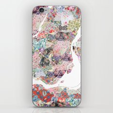 Montreal map canada iPhone & iPod Skin